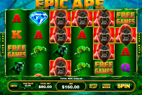 epic ape playtech slot
