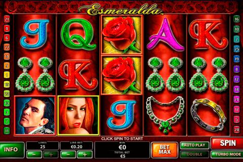 esmeralda playtech slot