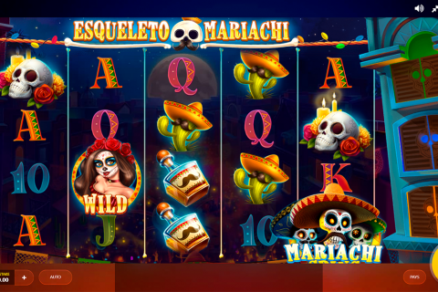 esqueleto mariachi red tiger slot