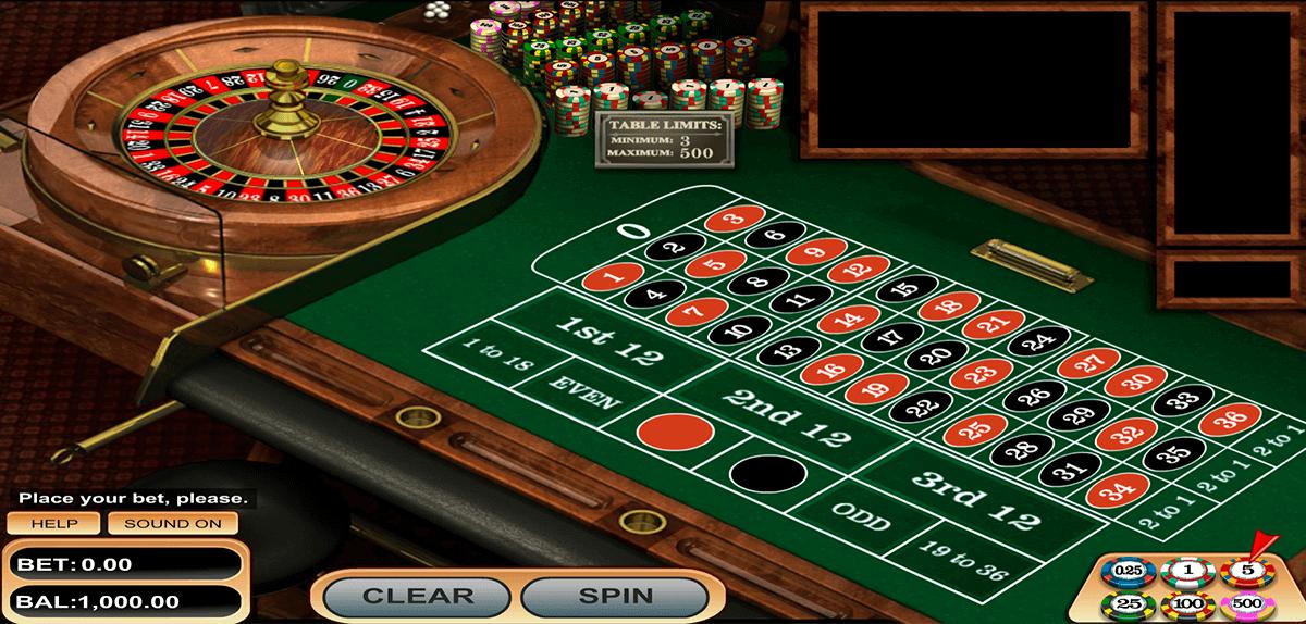 european roulette betsoft online