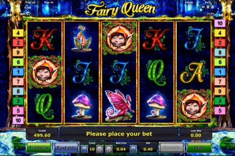 fairy queen novomatic slot