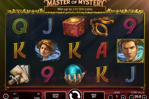 fantasini master of mystery netent slot