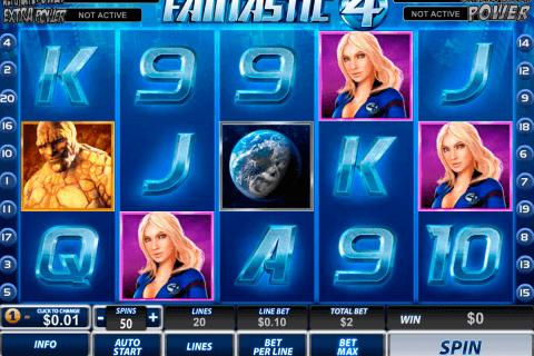 fantastic four playtech slot