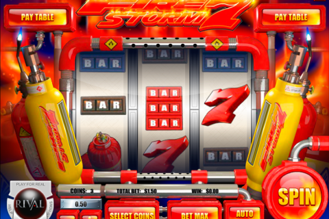 firestorm  rival slot