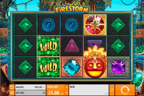 firestorm quickspin slot