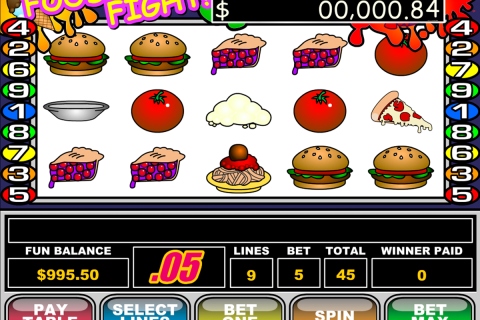 food fight rtg slot