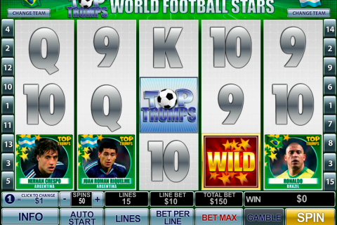 football stars playtech slot
