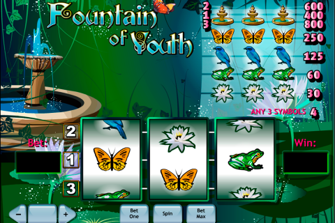 fountain of youth playtech slot