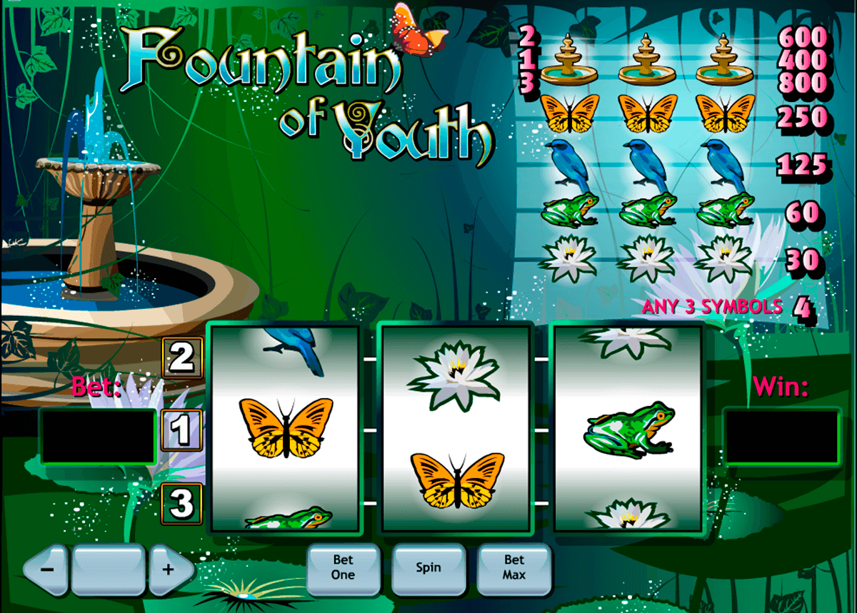 Spiele Fourtain Of Youth - Video Slots Online