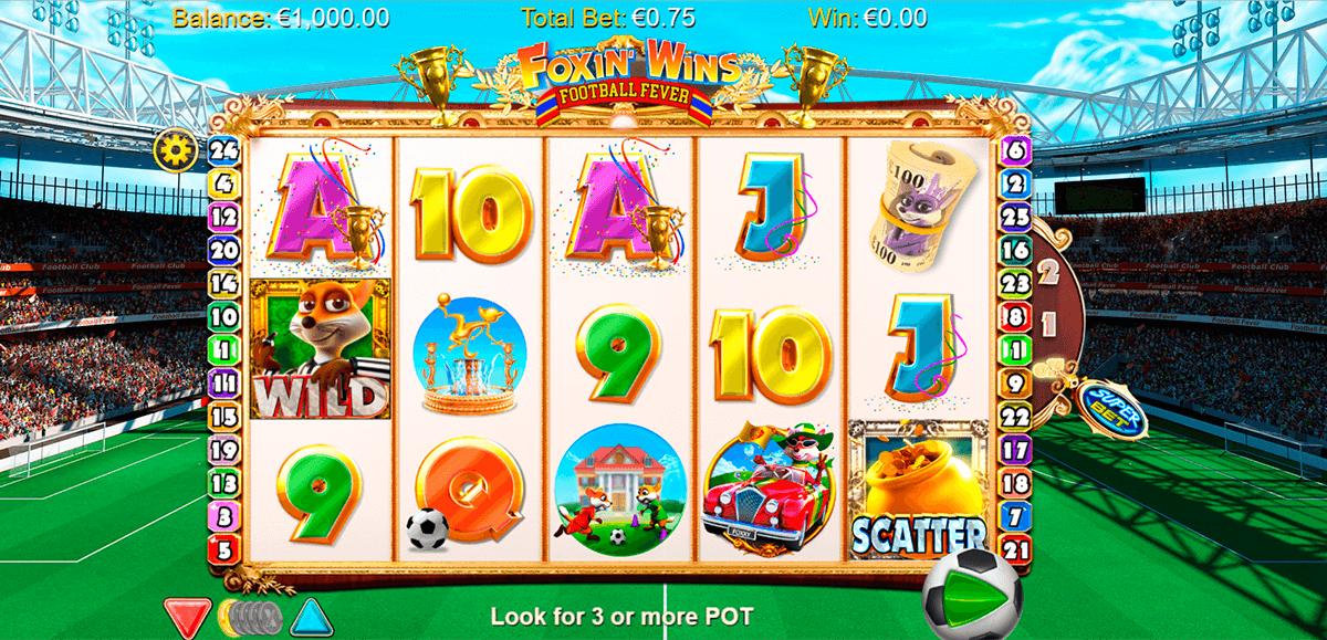 Spiele Foxin Wins Football Fever - Video Slots Online