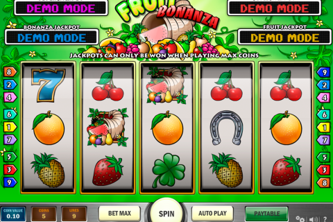 fruit bonanza playn go slot