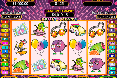 fruit frenzy rtg slot