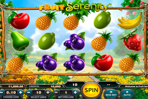 fruit serenity nucleus gaming slot