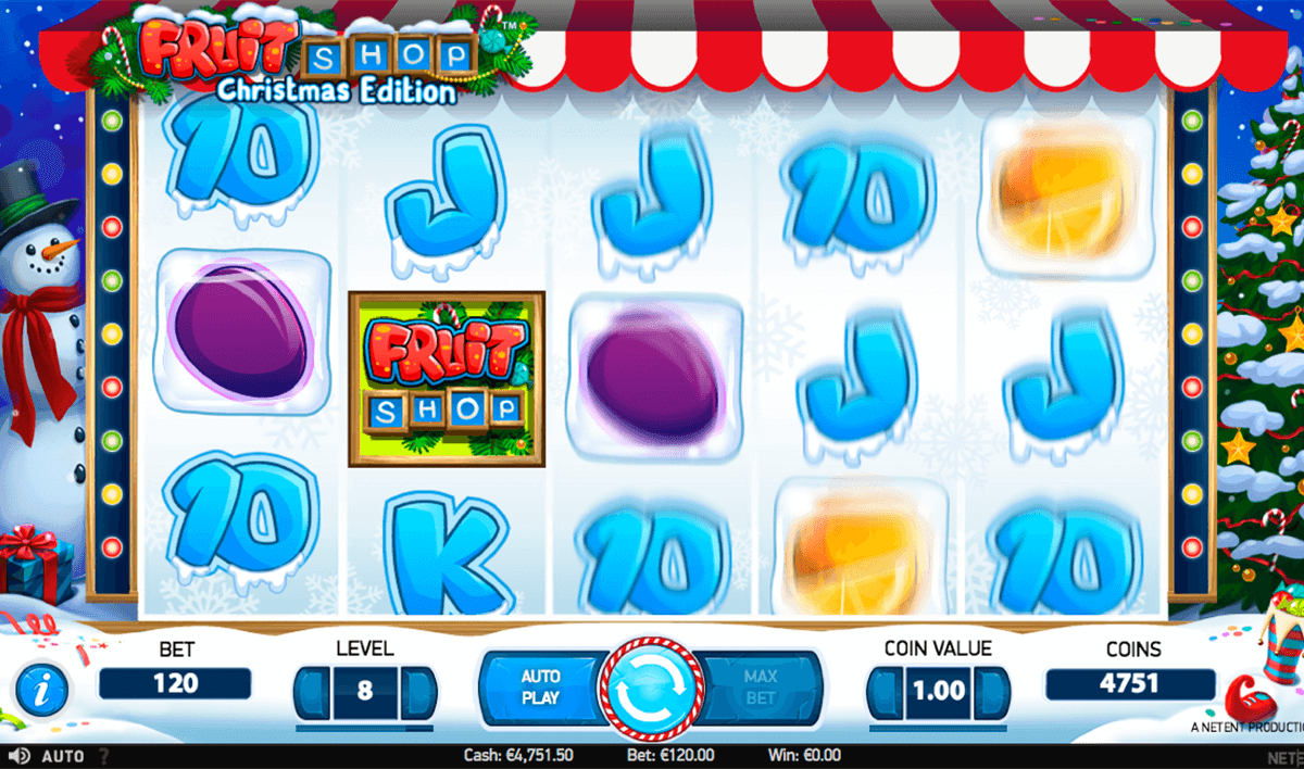 fruit shop christmas edition netent slot