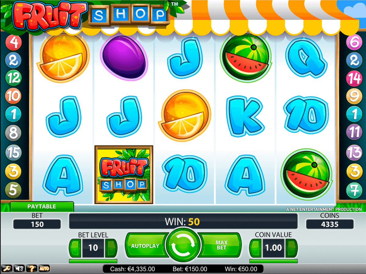 fruit shop netent slot