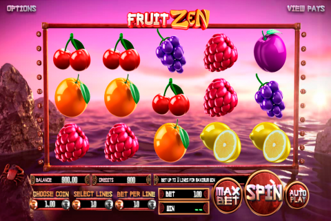 fruit zen betsoft slot