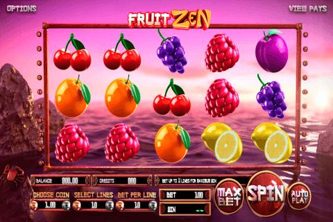 fruit zen betsoft slot