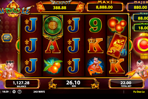 fu dao le bally slot