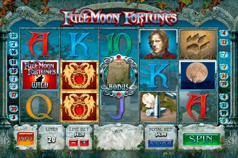 full moon fortunes playtech slot