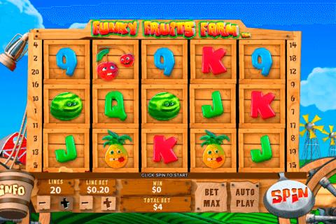 funky fruits farm playtech slot