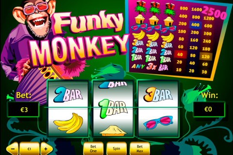 funky monkey playtech slot