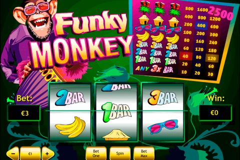 funky monkey playtech slot