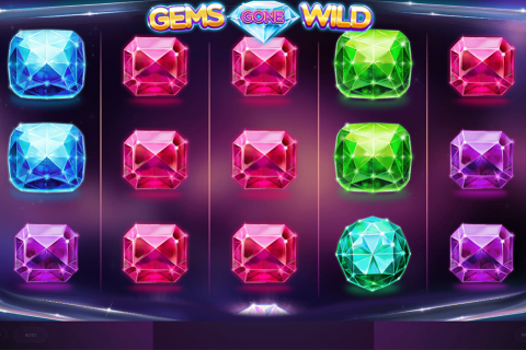 gems gone wild red tiger slot