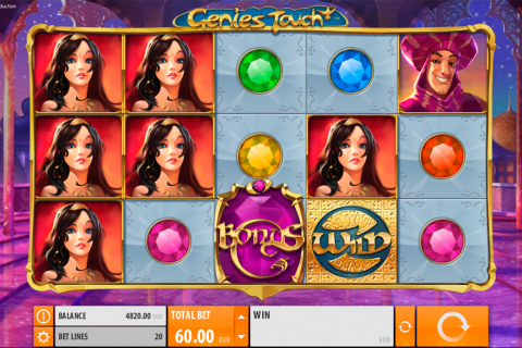 genies touch quickspin slot