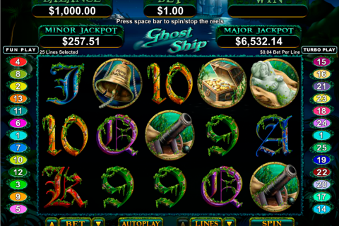 ghost ship rtg slot