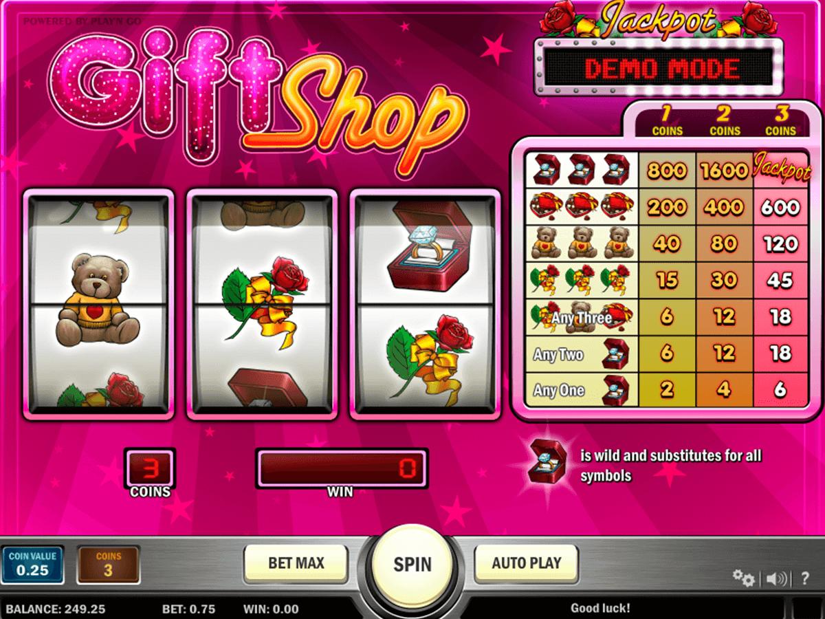 gift shop playn go slot