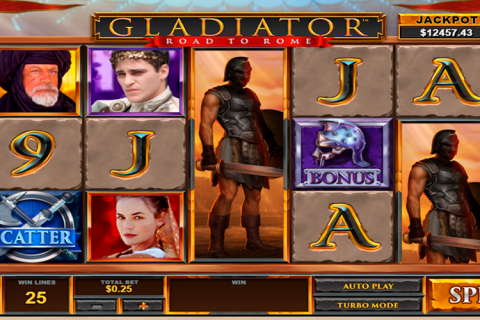 gladiator road to rome playtech slot
