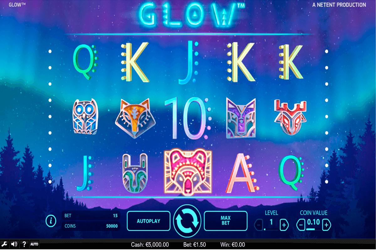 glow netent slot