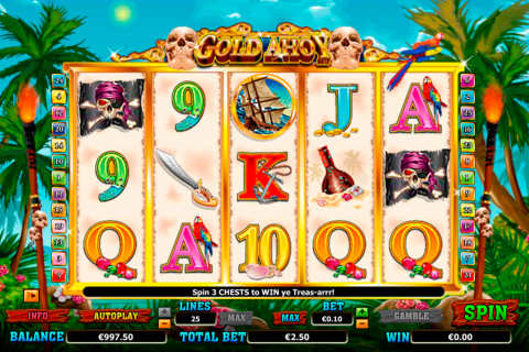 gold ahoy netgen gaming slot