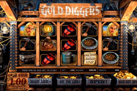gold diggers betsoft slot