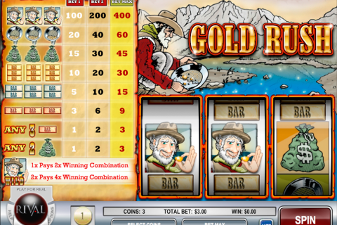 gold rush rival slot