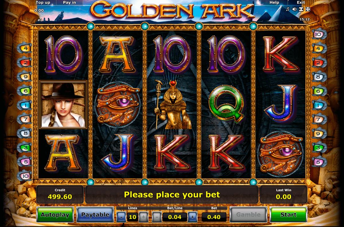 golden ark novomatic slot