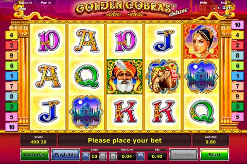 golden cobras delue novomatic slot