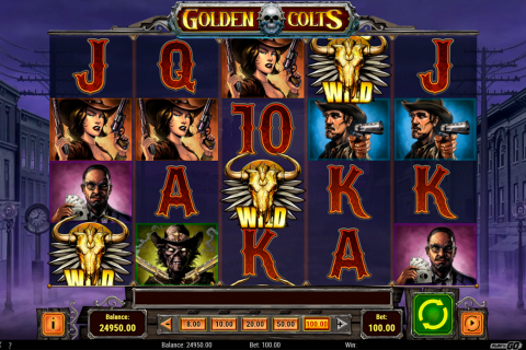 golden colts playn go slot
