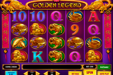 golden legend playn go slot