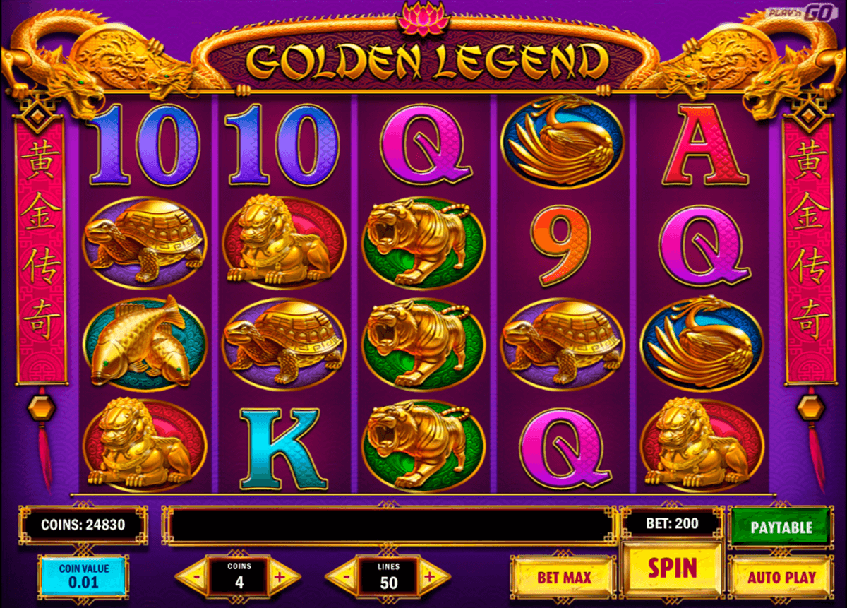 golden legend playn go slot