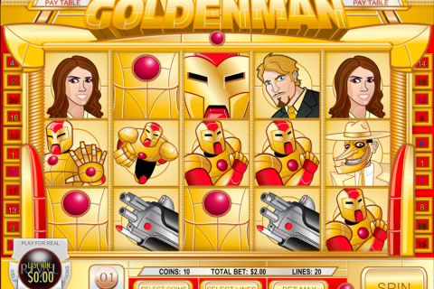 golden man rival slot