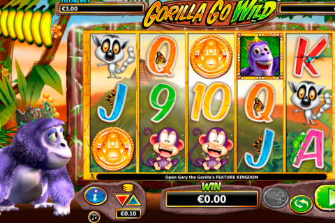 gorilla go wild netgen gaming slot