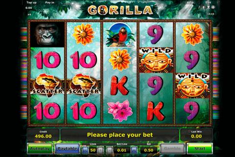 gorilla novomatic slot