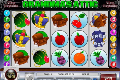 grandmas attic rival slot