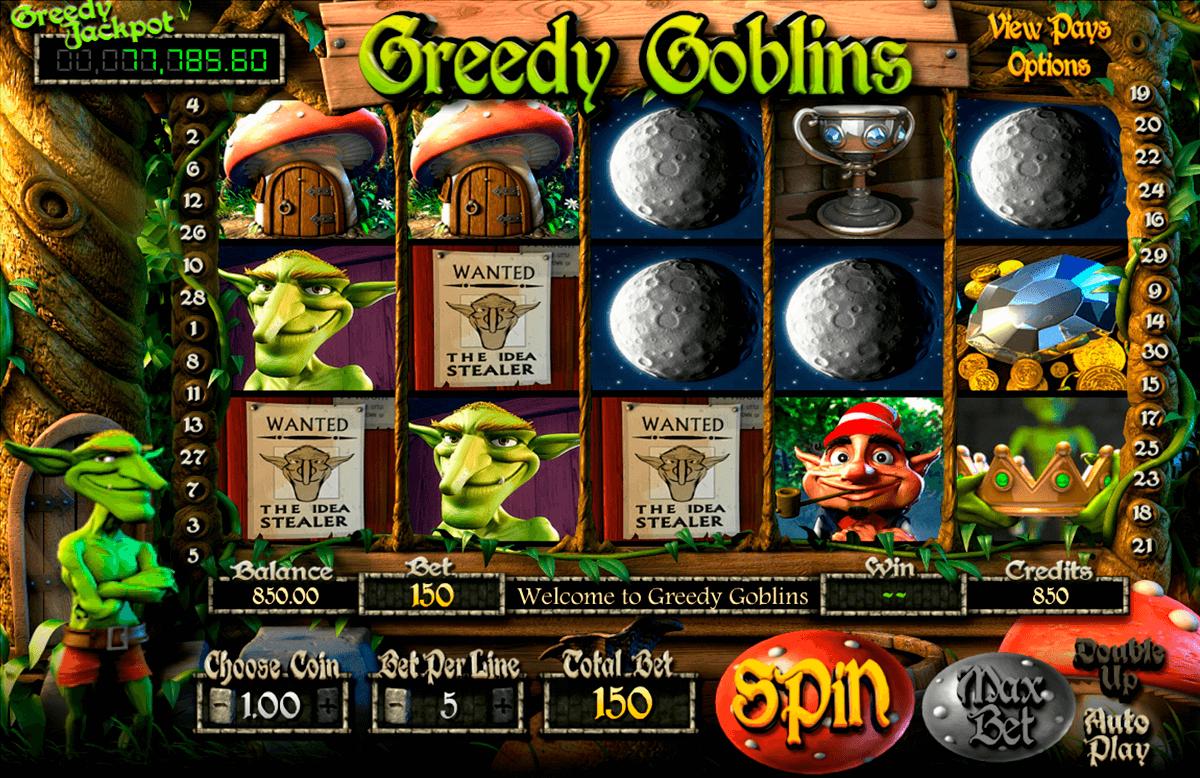greedy goblins betsoft slot