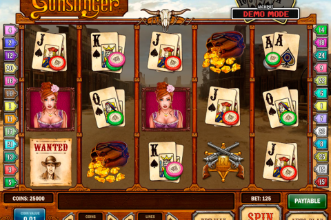 gunslinger playn go slot