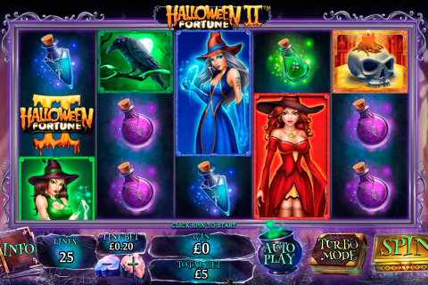 halloween fortune ii playtech slot