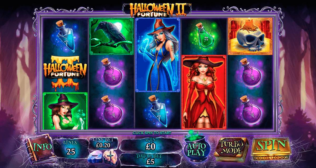 halloween fortune ii playtech slot
