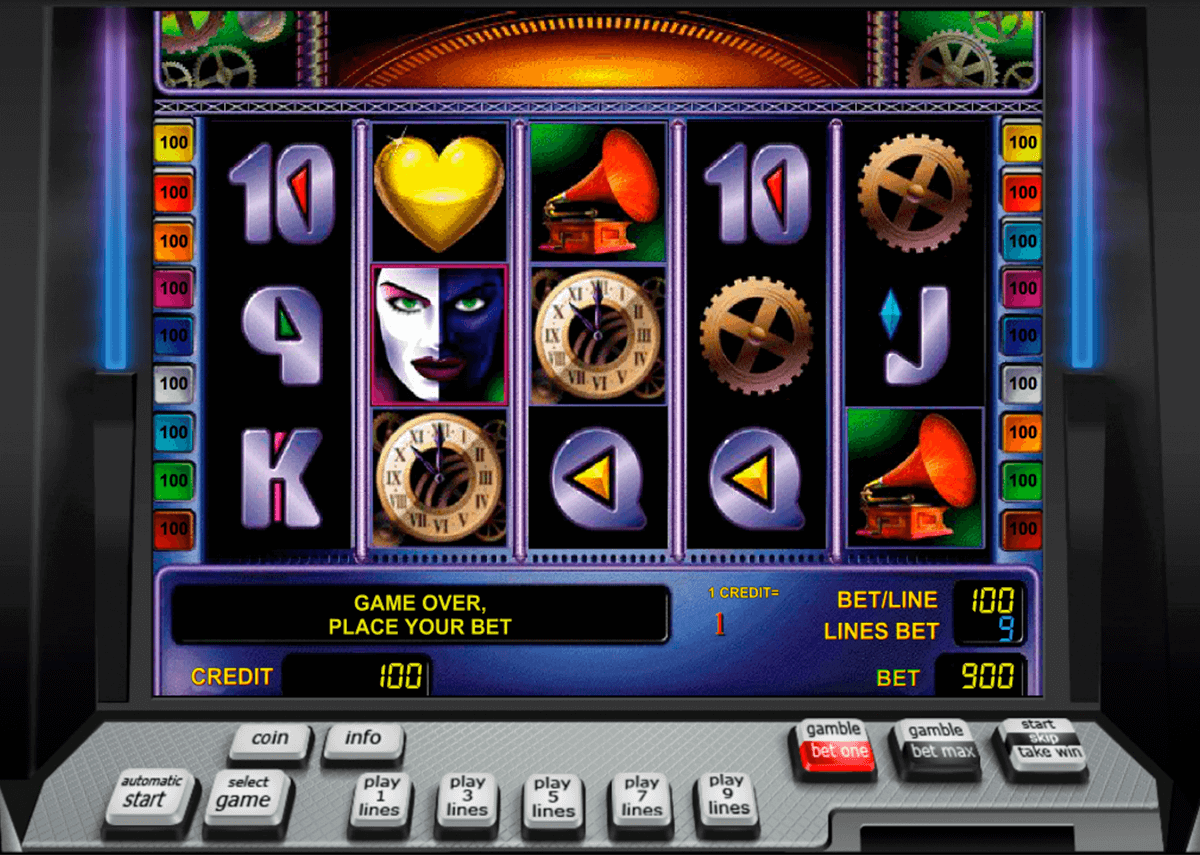 heart of gold novomatic slot