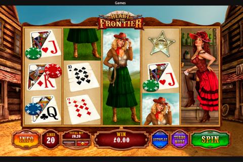 heart of the frontier playtech slot